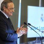 Официально: Флорентино Перес переизбран на пост президента Реала Мадрид